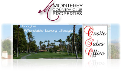 Monterey Country Club Properties Website Display