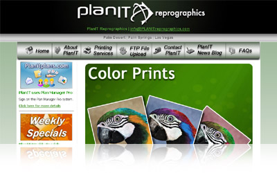 PlanIT Website Display