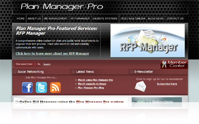 Plan Manager Pro Website Display