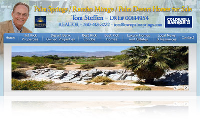 OwnPalmSprings.com Website Display