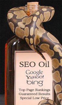 SEO Oil Salesman Should Be Avoided!